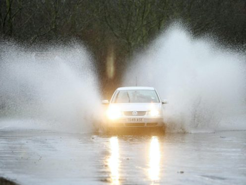 Forecasters have warned of possible flooding amid heavy rain in parts of Wales (David Jones/PA)