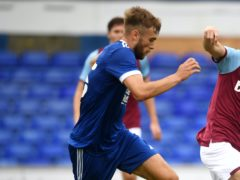 Ipswich's Aaron Drinan is the closest of an injury-hit squad to a first-team return (Joe Giddens/PA)