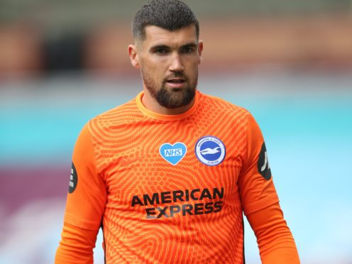 Mat Ryan's days with Brighton appear to be numbered (Nick Potts/PA)