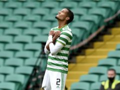 Christopher Jullien could return for Celtic (PA)