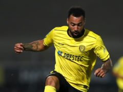 Burton Albion's Kane Hemmings could be in line for a starting place following his return from injury (Mike Egerton/PA)