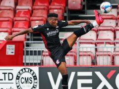 Myles Hippolyte opened his Football League account (Kieran Cleeves/PA)