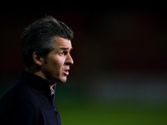 Joey Barton's Fleetwood are due to face Ipswich on Saturday (Dave Thompson/PA)