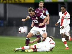 Dale Stephens has played only three times for Burnley since he joined from Brighton in September (Peter Powell/PA)