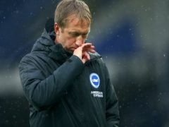 Graham Potter's Brighton endured a difficult 2020 (Alex Livesey/PA)