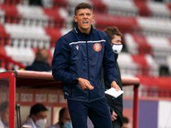 Alex Revell was full of praise for his goalscorer (John Walton/PA)