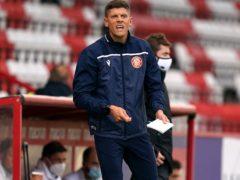 Stevenage boss Alex Revell saw his side return to winning ways in midweek (John Walton/PA)