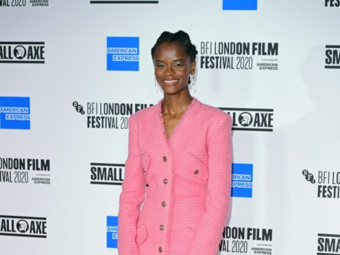 Letitia Wright appears to have come off social media (PA)