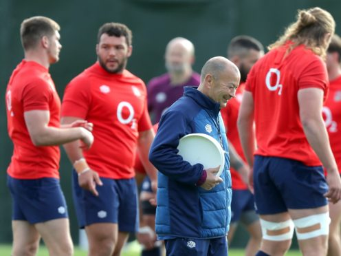 Eddie Jones wants England to supply 20 players to the Lions tour (PA)
