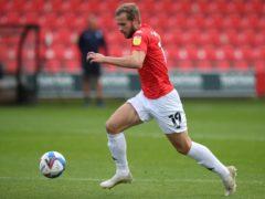 James Wilson scored the winner against Harrogate (Nick Potts/PA)