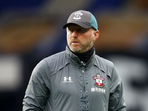 """Ralph Hasenhuttl suggested the Premier League's """"tough"""" image was behind the decision to limit substitutions (Clive Brunskill/PA)"""