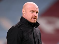 Sean Dyche is heartened by Burnley's recent performances (Michael Regan/PA)