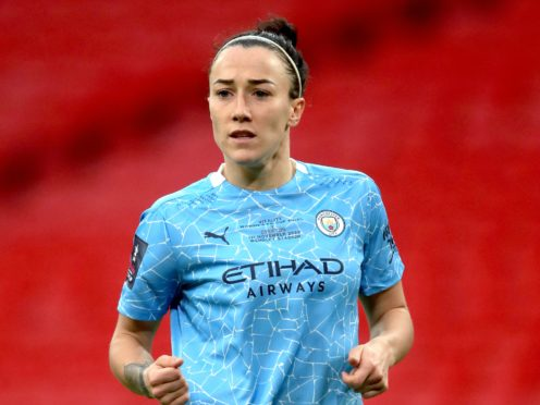 Lucy Bronze (pictured) pipped Wendie Renard and Pernille Harder to win the FIFA award on Thursday (Adam Davy/PA).