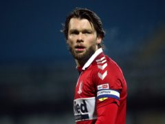 Jonny Howson came off in the second half of Middlesbrough's defeat at Preston (Tim Goode/PA).