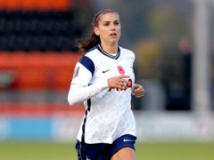 Alex Morgan will leave Tottenham and return to the United States (Kieran Cleeves/PA)