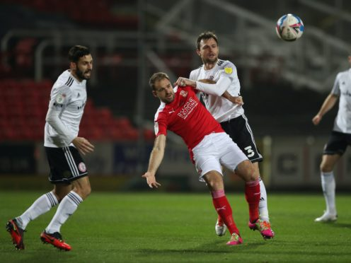 Brett Pitman could return to the Swindon starting line-up (Nick Potts/PA)