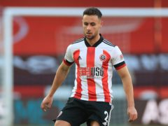 George Baldock signed a new contract with Sheffield United at the weekend (Mike Egerton/PA).