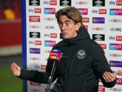 Brentford manager Thomas Frank has a defensive dilemma (John Walton/PA)