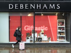 Debenhams' future is at risk after rescue talks with JD Sports collapsed (Danny Lawson/PA)