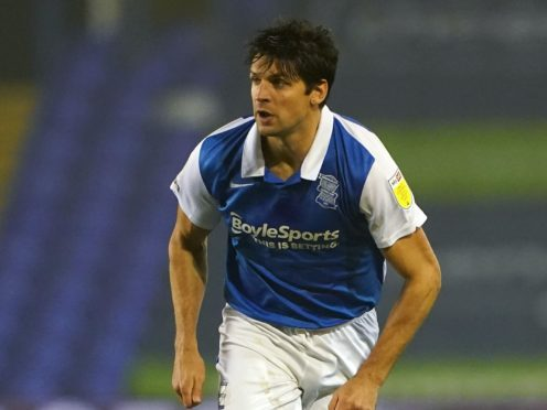 Birmingham defender George Friend will almost certainly miss a reunion with old club Middlesbrough (Zac Goodwin/PA)
