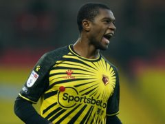 Watford's Christian Kabasele was on target in the win over Rotherham (Tess Derry/PA)