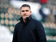 Ryan Lowe was far from happy after defeat at Bristol Rovers (Simon Galloway/PA)