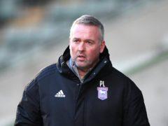 Paul Lambert's Ipswich edged Burton (Simon Galloway/PA)