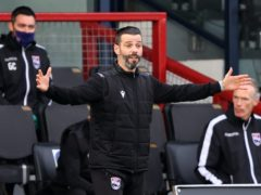 Ross County manager Stuart Kettlewell admits he is struggling to hide his frustrations (Jeff Holmes/PA)