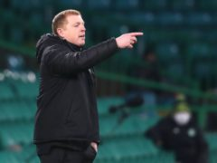 Neil Lennon saw his side drop points again (Andrew Milligan/PA)