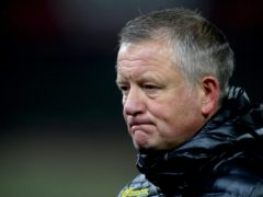 Chris Wilder's Sheffield United are bottom of the Premier League with one point from 12 games (Nick Potts/PA).