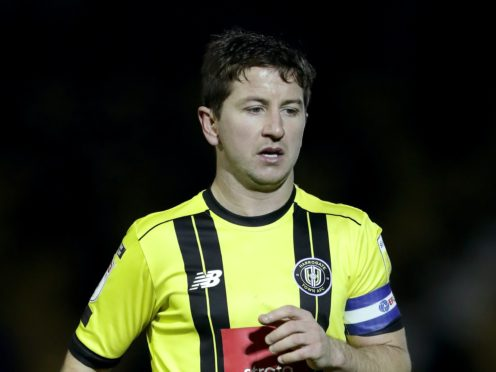 Harrogate skipper Josh Falkingham is hoping to start against Carlisle after injury (Richard Sellers/PA)