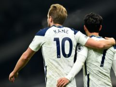 Harry Kane (left) and Son Heung-min (right) have become one of the Premier League's best partnerships (Glyn Kirk/PA)