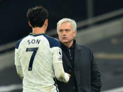 "Jose Mourinho hailed his ""world-class"" forward (Glyn Kirk/PA)"