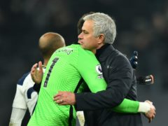 Jose Mourinho spoke highly of Hugo Lloris after Tottenham's draw (Glyn Kirk/PA)
