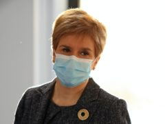 First Minister Nicola Sturgeon revealed details of a report to the Scientific Advisory Group for Emergencies (Russell Cheyne/PA)