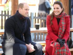 The Duke and Duchess of Cambridge praised frontline workers on Christmas Day (Chris Jackson/PA)