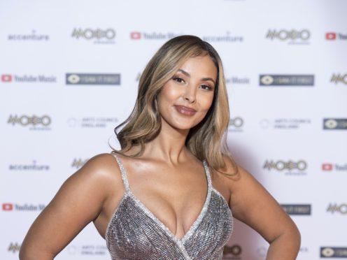 Maya Jama has spoken of her first film role (Ian West/PA)