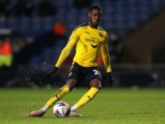 Olamide Shodipo was on target as Oxford won at Plymouth (Andrew Matthews/PA)