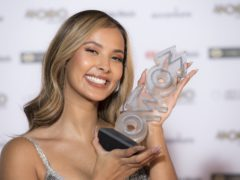 Maya Jama was hosting for the second time (Ian West/PA)
