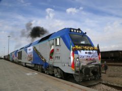 The 90-mile line runs from eastern Iran into western Afghanistan (Mohammad Ramezani, ISNA via AP)