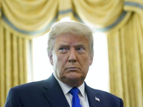 US President Donald Trump (AP/Patrick Semansky)