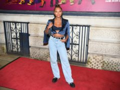 Samira Mighty arrives for the press night of Death Drop at the Garrick Theatre in London (Kirsty O'Connor/PA)