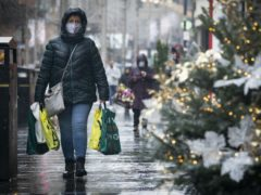 Non-essential retail in 11 council areas in Scotland was reopened as restrictions were eased (Jane Barlow/PA)