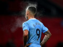 Gabriel Jesus may have looked hot on Saturday but is on a cold streak in front of goal (Michael Regan/PA)