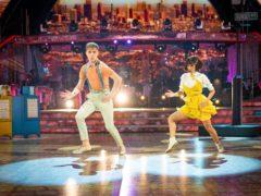 HRVY and Janette Manrara's Charleston drew rave reviews (Guy Levy/BBC)