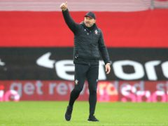 Ralph Hasenhuttl's side have won seven of their first 12 league games (Michael Steele/PA)