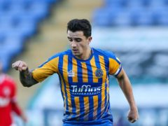 Ollie Norburn's penalty was turned home by Shrewsbury team-mate Dan Udoh (Barrington Coombs/PA)