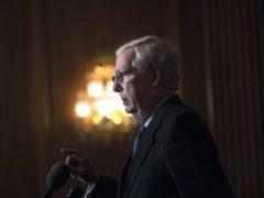 Senate Majority Leader Mitch McConnell (Rod Lamkey/Pool/AP)