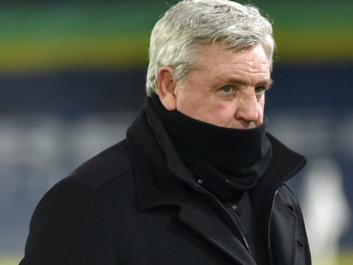 Newcastle boss Steve Bruce is still missing players from the after effects of the club's Covid outbreak (Rui Vieira/PA Images).