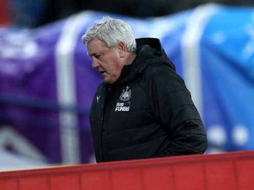 Newcastle head coach Steve Bruce fears two of his players are suffering from long-term Covid-19 (Lee Smith/PA)